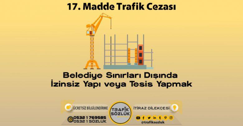17 trafik cezası
