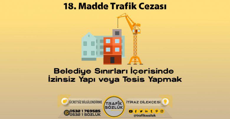 18 trafik cezası