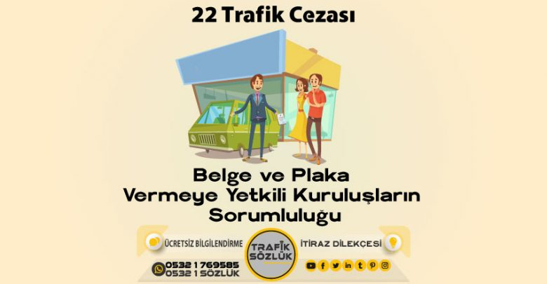 22 trafik cezası