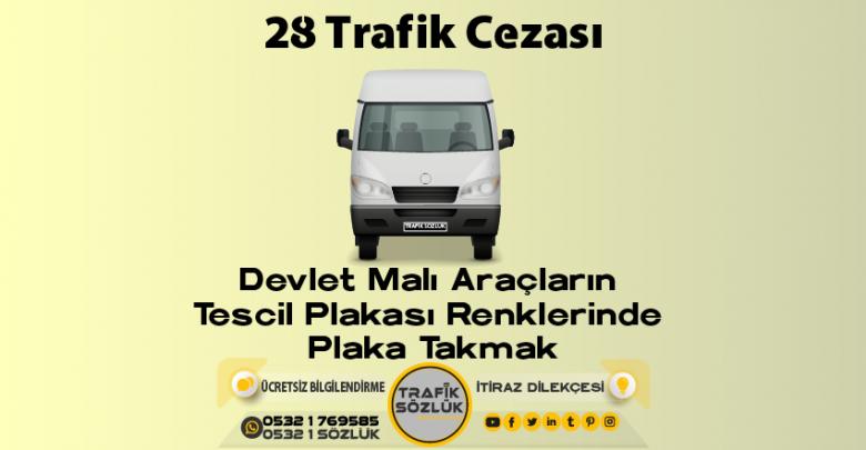 28 trafik cezası