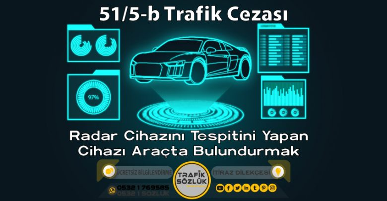 51/5-b trafik cezası