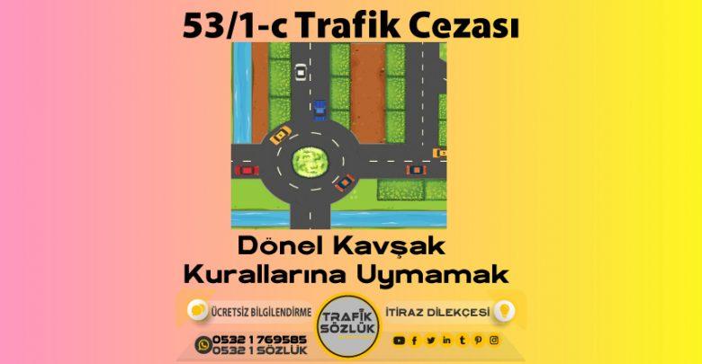 53/1-c trafik cezası