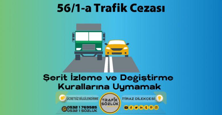 56/1-a trafik cezası