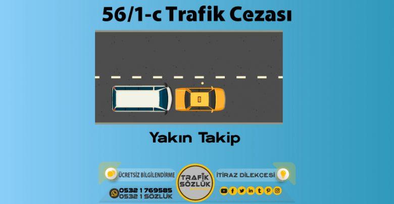 56/1-c trafik cezası