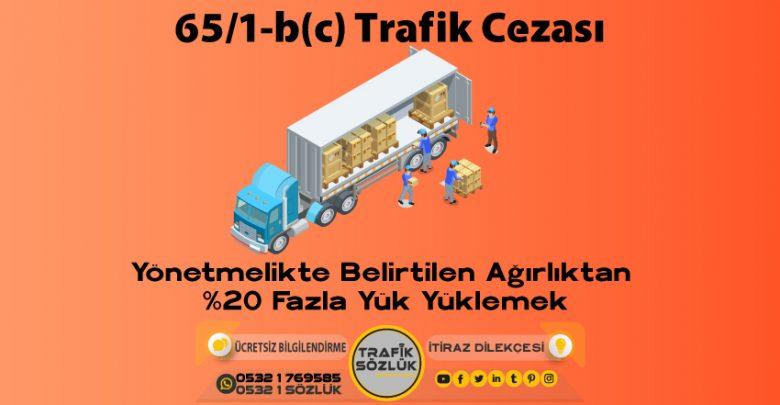 65/1-b (c) trafik cezası