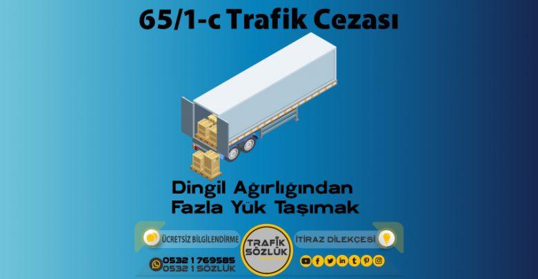 65/1-c trafik cezası