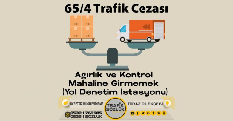 65/4 trafik cezası