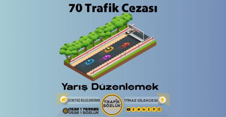 70 trafik cezası