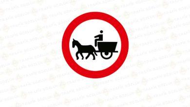 At Arabası Giremez Levhası TT-13