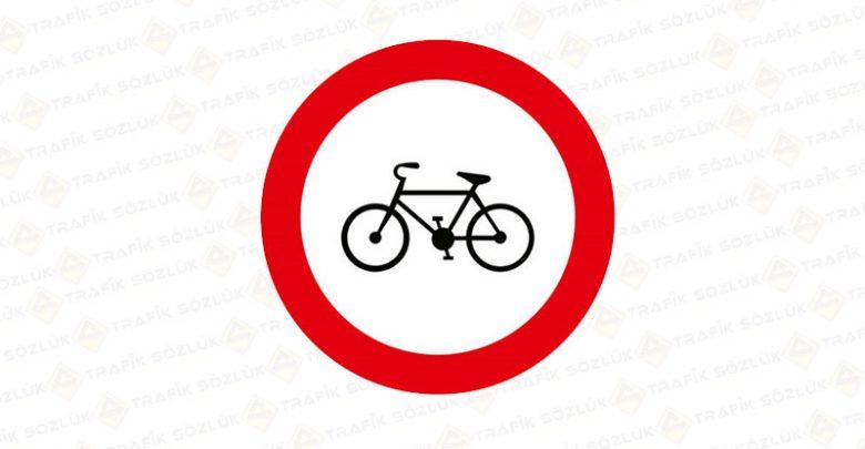 Bisiklet Giremez Levhası TT-8