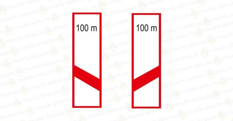 Demiryolu Hemzemin Geçit Yaklaşımı Levhası Sağ Sol T-30-a-b