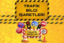 trafik bilgi işaretleri