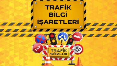 Photo of Trafik bilgi işaretleri nedir