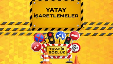 Photo of Yatay trafik işaretleri ve anlamları